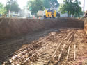 Site Excavation For Water Run Off